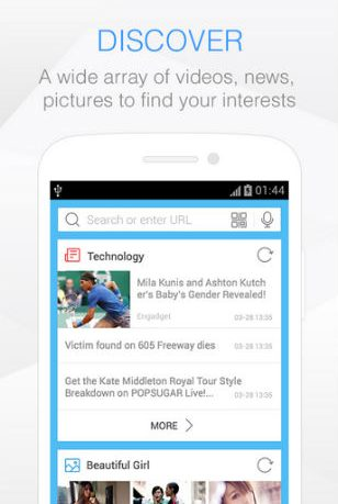 Baidu Browser Android Review