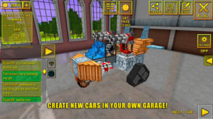 Blocky Cars Online Android Review