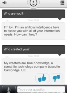 Evi iPhone Review