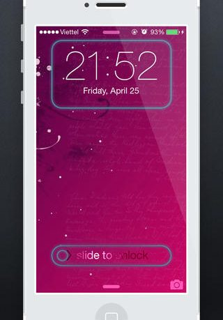 FancyLock for iOS 7 iPhone Review